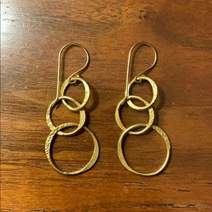Mirabelle loop earrings